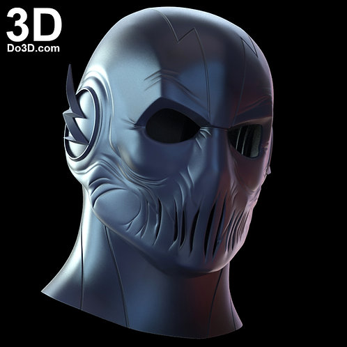 Zoom Mask from The Flash | 3D Model Project #682