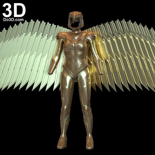 Wonder Woman 1984 Diana Golden Eagle Armor | 3D Model Project #6638