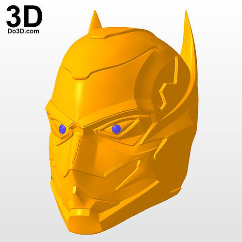 Batman Variant Cowl Injustice 2 Consumed by Night | 3D Model Project #3072