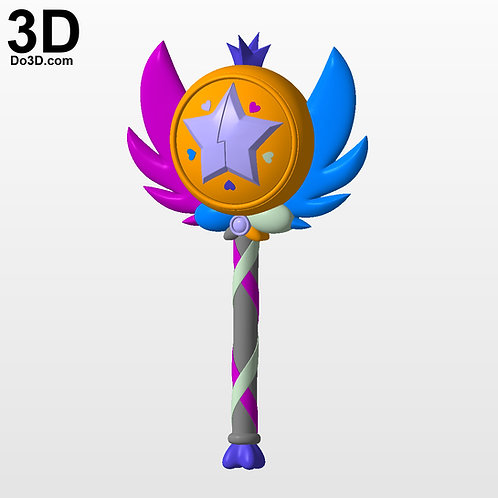 Star vs. the Forces of Evil Season 2 Wand | 3D Model Project #3234