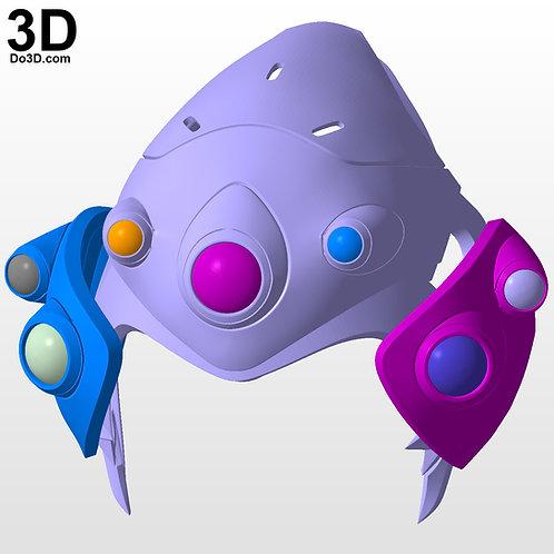 WidowMaker Overwatch Helmet | 3D Model Project #2964