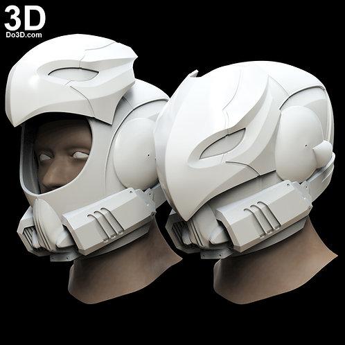 Celestial NightHawk Destiny Helmet | 3D Model Project #1481