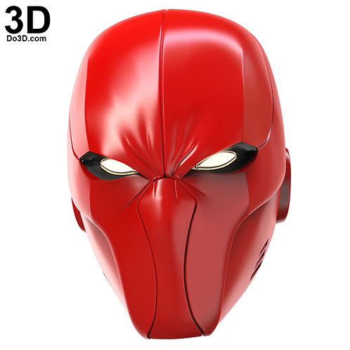 Red Hood Arsenal Helmet Original Design by Do3D.com | 3D Model Project #4261