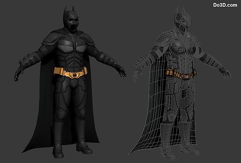 Dark Knight 2008 Batsuit Armor | 3D Model Project #27