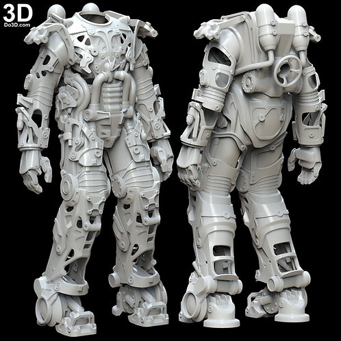 Fallout Power Armor Inner Parts and Structures Chassis | 3D Model Project #4843