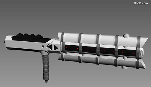 First Order Stormtrooper's Z6 Riot Control Baton | 3D Model Project #328