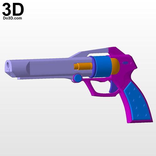 T-elos Xenosaga Pistol / Gun / Blaster   3D Model Project #4473