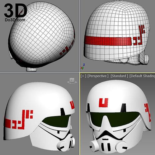 Imperial Cadet Star Wars Rebels Helmet | 3D Model Project #3078