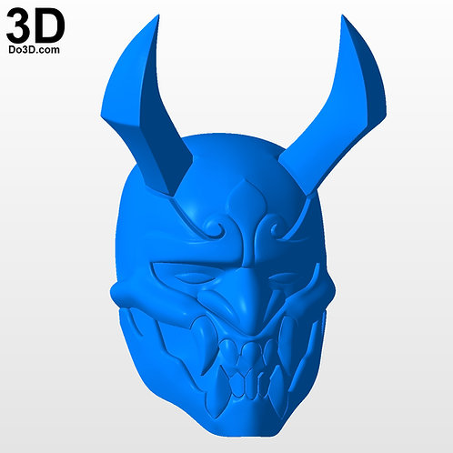 Blood Moon Shen Helmet Mask League of Legends | 3D Printable Model #3220