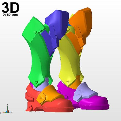 Reaper Overwatch Boots Shin | 3D Printable Model Print File STL #2977