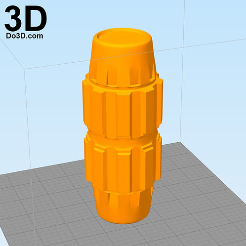 Death Trooper Grenade Sar Wars | 3D Model Project #1787