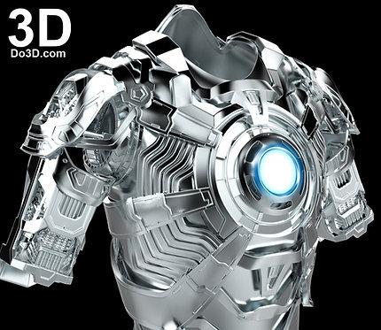 Mark XLII Inner Parts Armor MK 42 Concept | 3D Model Project #1797