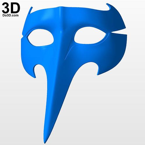 Goro Akechi Persona 5 Mask | 3D Model Project #4043