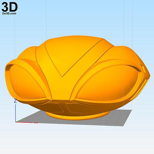 Black Manta Helmet Only from Aquaman 2018 | 3D Model Project #N08