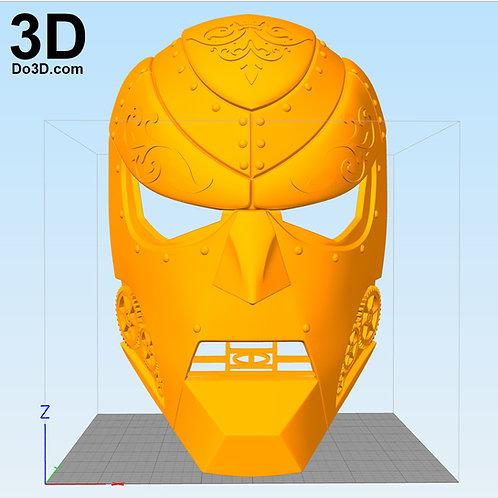 Doctor Doom Mask Victor Von Doom Concept   3D Model Project #971