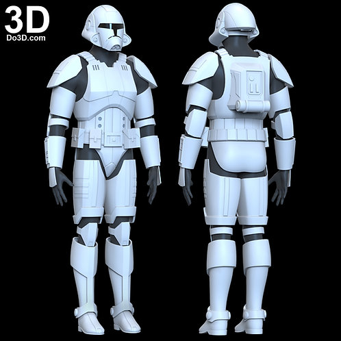 Republic Trooper Armor Star Wars The Old Republic | 3D Model Project #6515