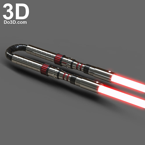 Rey's Lightsaber Star Wars The Rise of Skywalker | 3D Model Project #6101