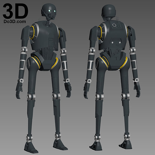 K-2SO K2SO Imperial Security Droid Star Wars | 3D Printable Model #1747