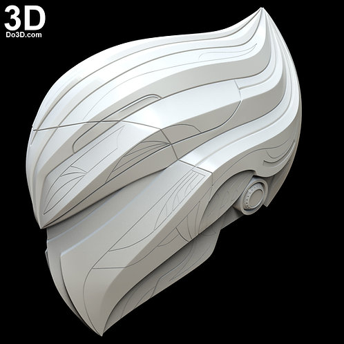 Quicksilver Silverhawks Helmet   3D Model Project #4765