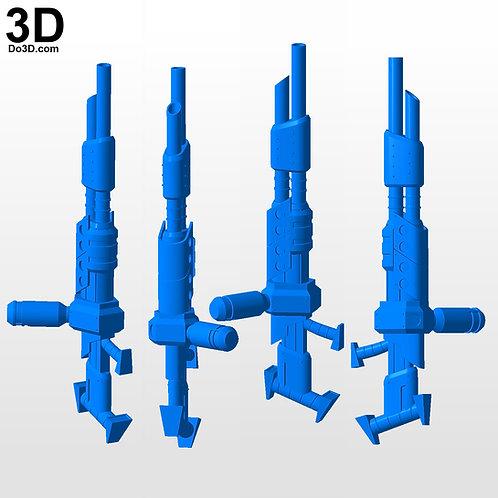 The Morph Gun Blaster Jak 2 II and Jak 3 III | 3D Model Project #4228