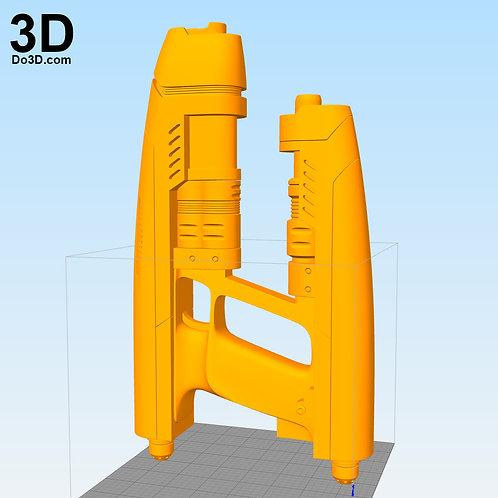Star-Lord Gun Rifle Blaster Star Lord | 3D Model Project #1132