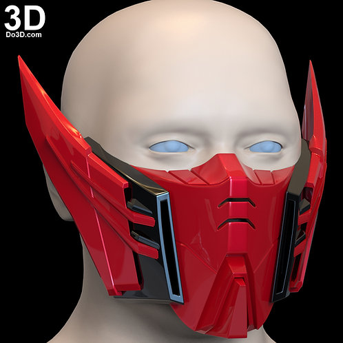 OZ-13MS Epyon Gundam Style Face Mask Covering | 3D Printable Model #F3