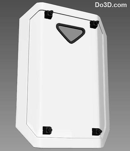First Order Stormtrooper Shield | 3D Printable Model #338