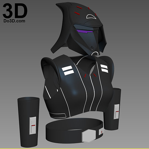Seventh Sister Star Wars Rebels Full Body Set | 3D Printable Model Project #1549