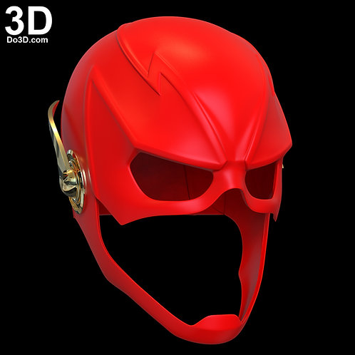 Flash Season 6 Cowl Helmet | 3D Printable Model File Format: STL N31