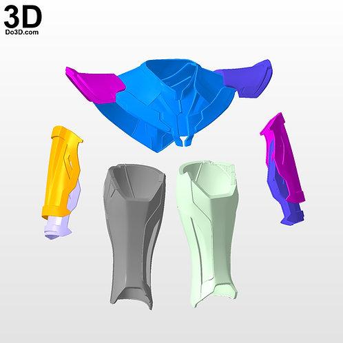 Iron Man Mark XLVI XLVII MK 46 47 Variant   3D Model Project #2999