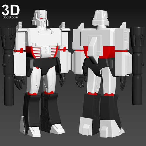 Megatron Transformers More Than Meets The Eye | 3D Model Project #4771
