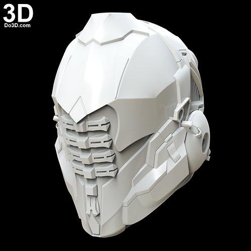Sci-fi Robot Helmet Do3D 001 | 3D Model Project #4728