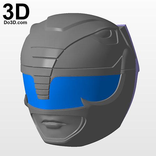 Black Ranger Classic Helmet Mighty Morphin Power Rangers MMPR, 3D Project #2891