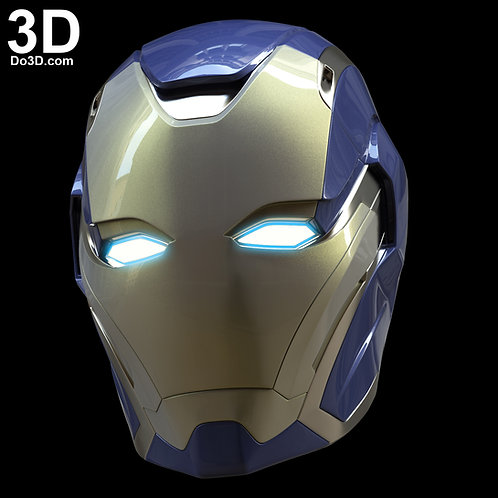 Marvel Rescue Endgame Helmet Iron Man Mark XLIX MK 49 | 3D Model Project #5842