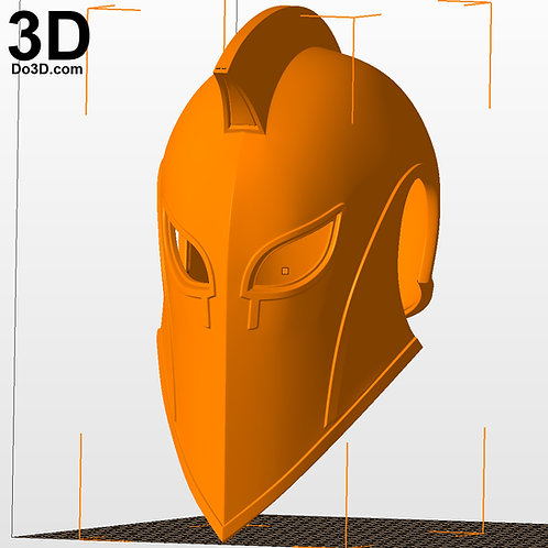 Doctor Dr. Fate Injustice 2 Helmet and Armor   3D Printable Model #H4949