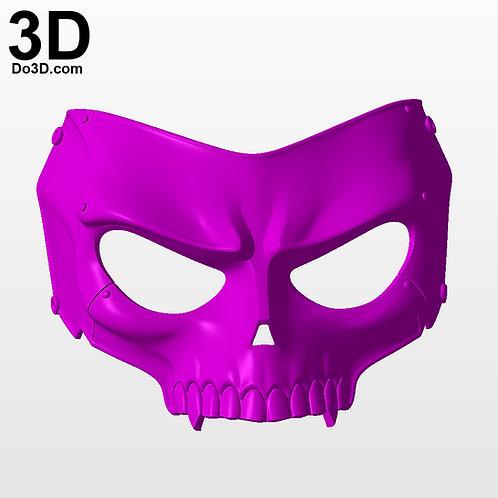 Sckull Ryuji Sakamoto Persona 5 Mask | 3D Printable Model #PM7