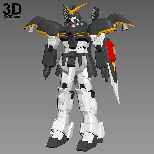 XXXG-01D Gundam Deathscythe Full Body Armor | 3D Model Project #3826
