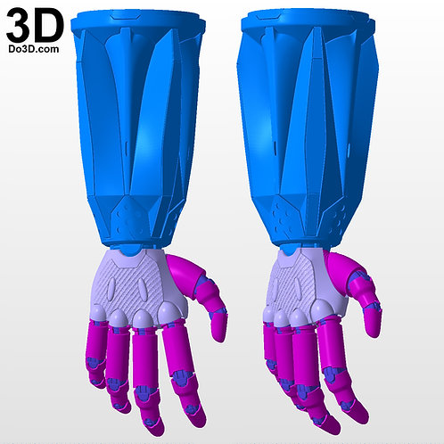 Devil May Cry 5 Nero Arm Gauntlet Overture Devil Breaker 3D Project #5451