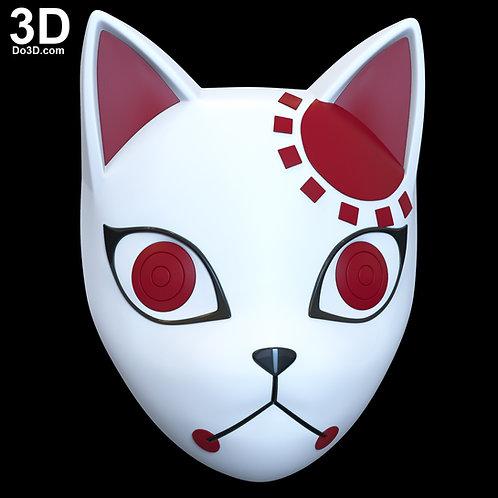 Tanjiro Kamado Mask Demon Slayer Kimetsu no Yaiba   3D Model Project #6679