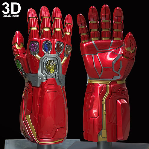 Hulk's Nano Infinity Gauntlet Type 002 Expanded | 3D Printable Model #5920
