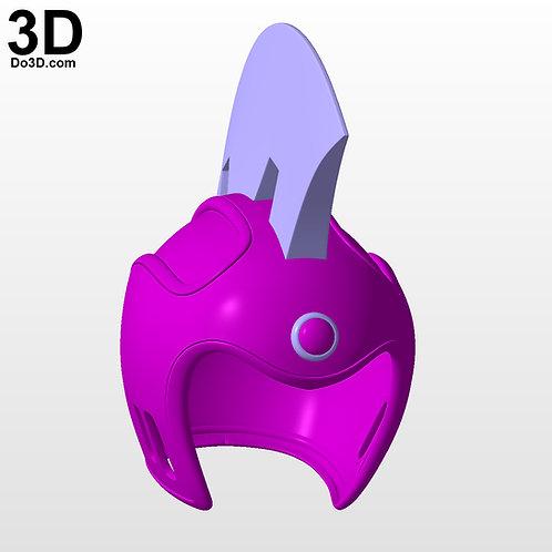 Chi-Chi Dragon Ball Helmet | 3D Model Project #5294