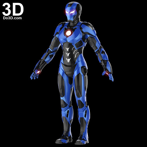 Pepper Potts Barracuda Rescue Armor / Suit | 3D Model Project #1950