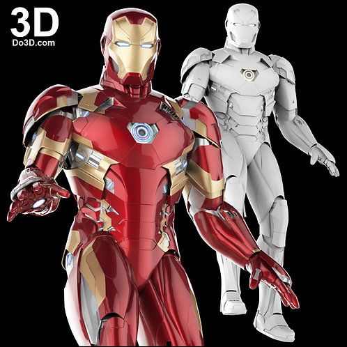 Iron Man Mark XLVI / XLVII Armor  MK 46 / 47 | 3D Model Project #410