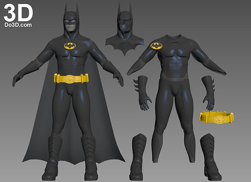 Full Body Batman Returns Batsuit Armor | 3D Printable Model Project #1146