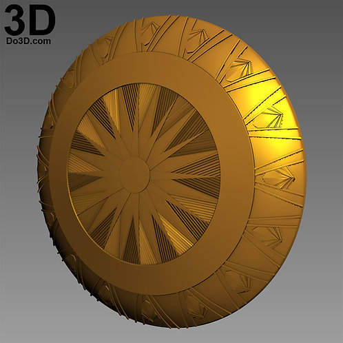Wonder Woman God Killer Shield | 3D Model Project #2314