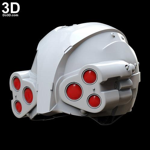 Cyberpunk 2077 Psycho Squad Police Helmet | 3D Model Project #4335
