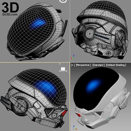 Mass Effect Andromeda Ryder Pathfinder Helmet | 3D Printable Model #1975