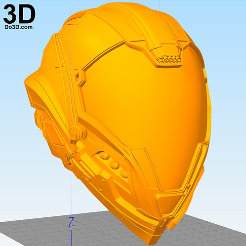 UEE Navy Flight Helmet | 3D Printable Model #4393