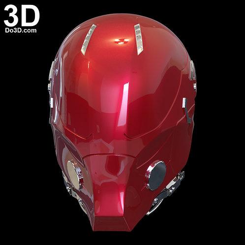 Red Hood Arkham Knight Classic Helmet | 3D Model Project #2092