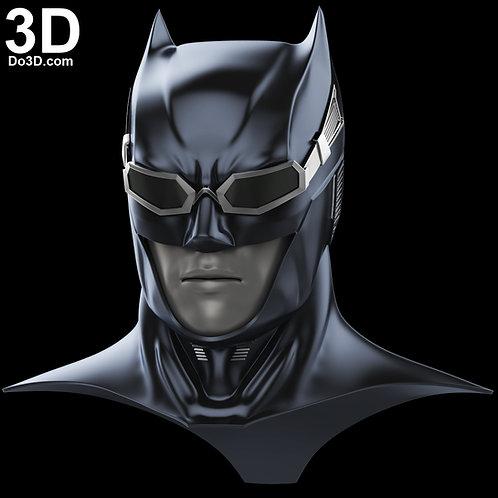 Batman Justice League Helmet with Goggles Tactical Cowl | 3D Model Project #2177
